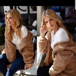 Jackets & Blazers - 🆕️//The Becky/ Teddy hoodie Jacket